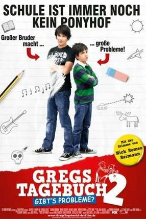 Poster: Gregs Tagebuch 2 - Gibt's Probleme?