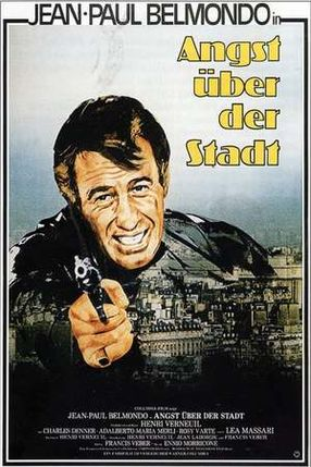 Poster: Angst über der Stadt