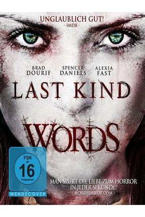 Poster: Last Kind Words