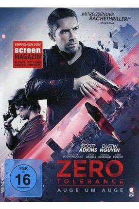 Poster: Zero Tolerance - Auge um Auge