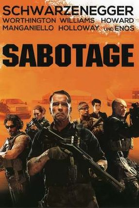 Poster: Sabotage
