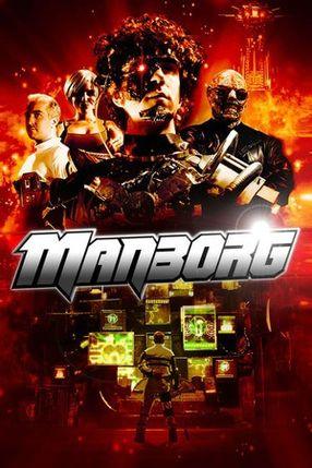 Poster: Manborg - Retter der Zukunft