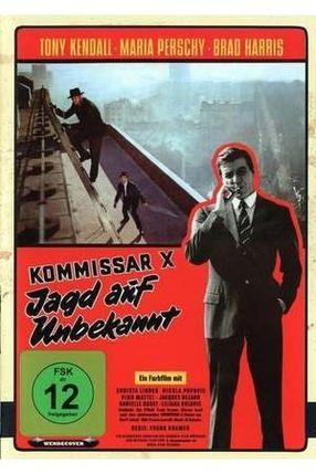 Poster: Kommissar X - Jagd auf Unbekannt