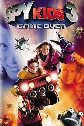 Poster: Spy Kids 3 - Game Over