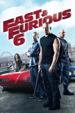 Poster: Fast & Furious 6