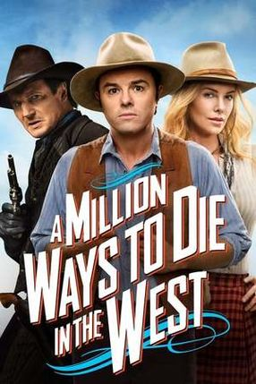 Poster: A Million Ways to Die in the West