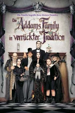 Poster: Die Addams Family in verrückter Tradition