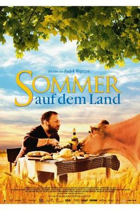Poster: Sommer auf dem Land