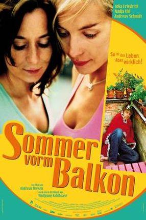 Poster: Sommer vorm Balkon