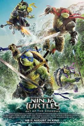 Poster: Teenage Mutant Ninja Turtles: Out of the Shadows