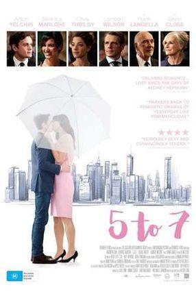 Poster: Von 5 bis 7: Eine etwas andere Liebesgeschichte