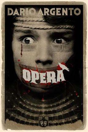Poster: Terror in der Oper