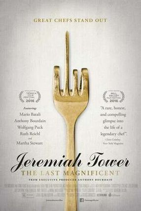 Poster: Jeremiah Tower: The Last Magnificent