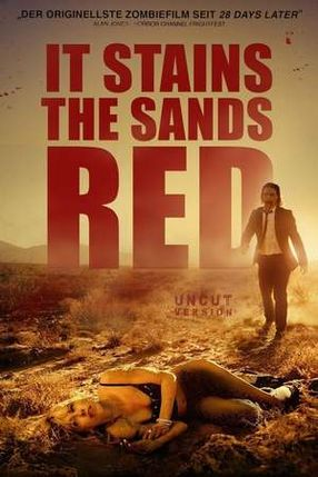 Poster: It Stains the Sands Red