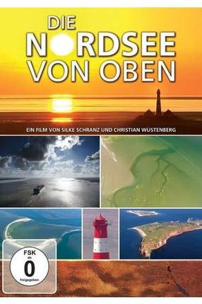 Poster: Die Nordsee von oben