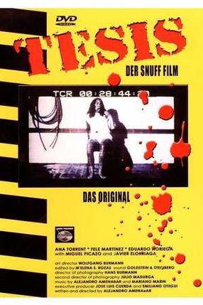Poster: Tesis - Faszination des Grauens