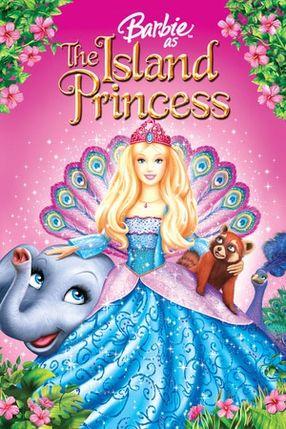 Poster: Barbie als Prinzessin der Tierinsel