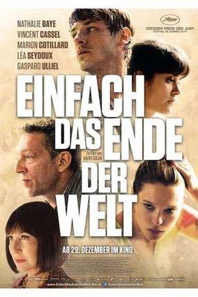 Poster: Einfach das Ende der Welt