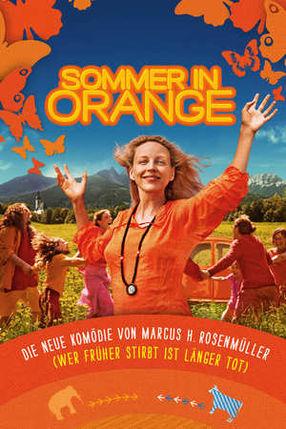 Poster: Sommer in Orange