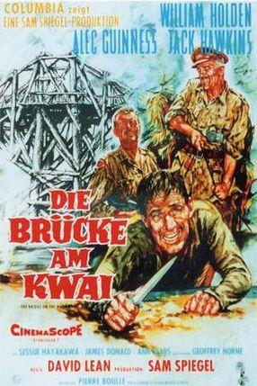 Poster: Die Brücke am Kwai