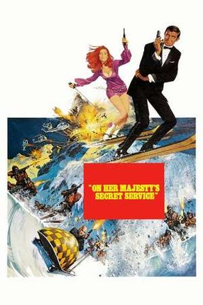 Poster: James Bond 007 - Im Geheimdienst Ihrer Majestät