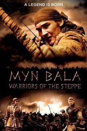 Poster: Myn Bala - Krieger der Steppe