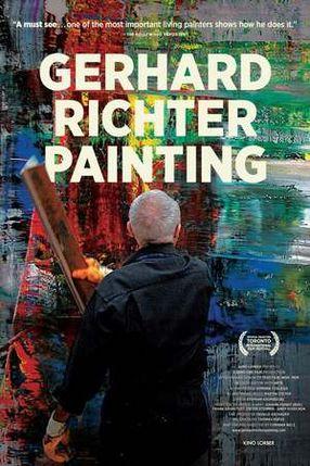 Poster: Gerhard Richter Painting