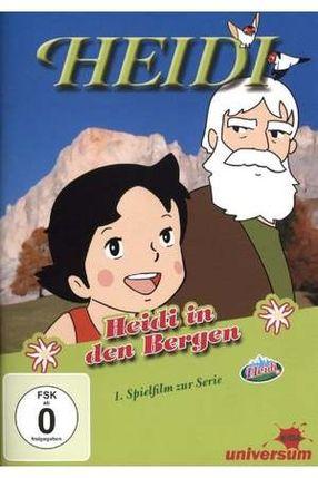 Poster: Heidi in den Bergen