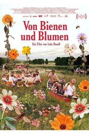 Poster: Von Bienen und Blumen