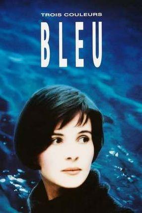Poster: Drei Farben: Blau