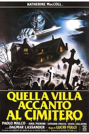 Poster: Das Haus an der Friedhofsmauer