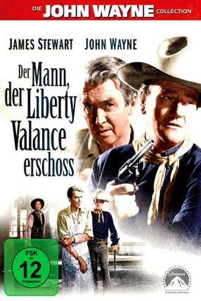 Poster: Der Mann, der Liberty Valance erschoß