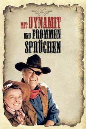 Poster: Mit Dynamit und frommen Sprüchen