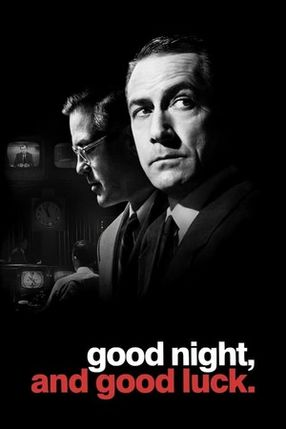 Poster: Good Night, and Good Luck.