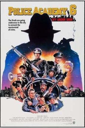 Poster: Police Academy 6 - Widerstand zwecklos