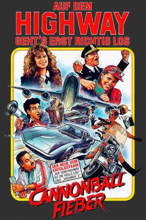 Poster: Cannonball-Fieber  - Auf dem Highway geht's erst richtig los