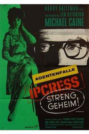 Poster: Ipcress - Streng Geheim
