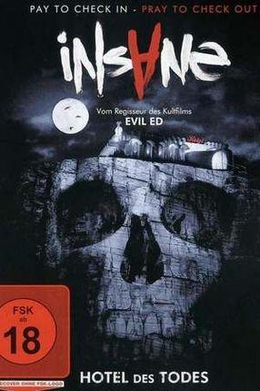Poster: Insane - Hotel des Todes