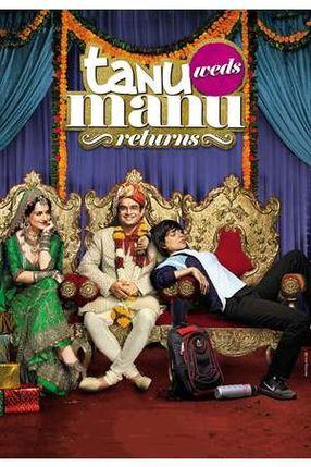 Poster: Tanu Weds Manu Returns - Ein ungleiches Paar 2