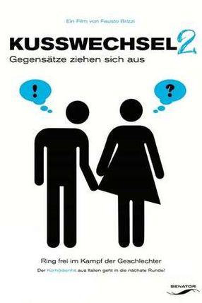 Poster: Kusswechsel 2 - Gegensätze ziehen sich aus