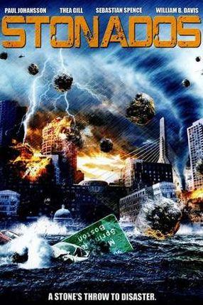 Poster: Stonados - Wenn es Felsen regnet