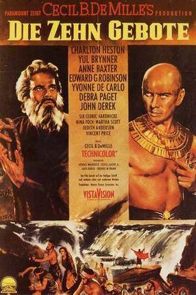 Poster: Die zehn Gebote
