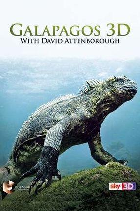 Poster: Galapagos 3D with David Attenborough