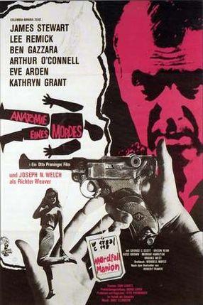 Poster: Anatomie eines Mordes