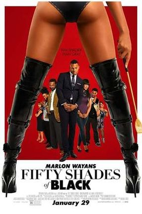 Poster: Fifty Shades of Black