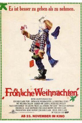 Poster: Fröhliche Weihnachten
