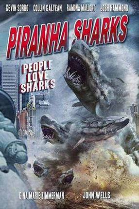 Poster: Piranha Sharks