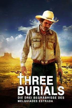 Poster: Three Burials - Die drei Begräbnisse des Melquiades Estrada