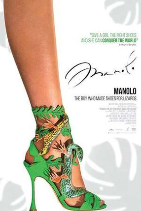 Poster: Manolo: The Boy Who Made Shoes for Lizards