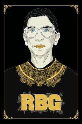 Poster: RBG - Ein Leben für die Gerechtigkeit